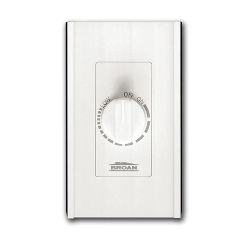 light switch timer lowes shop broan 6 amp white single pole timer light switch at