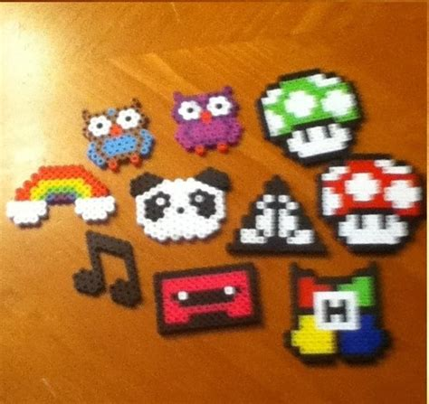 what to do with perler bead creations perler bead creations by minecraftmusic75 on deviantart