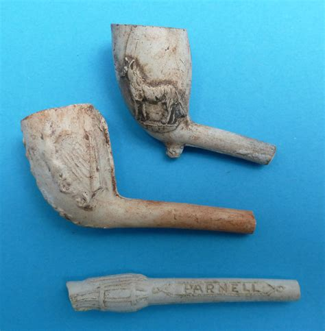 Handmade Clay Pipes - clay pipes what the victorians threw away
