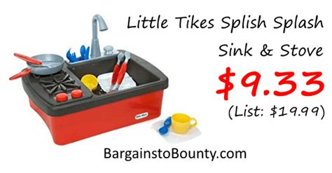 tikes splash sink tikes splish splash sink stove at lowest recorded