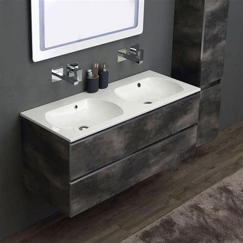 mobile bagno componibile mobile componibile 120 cm da bagno lavabo doppio kv store