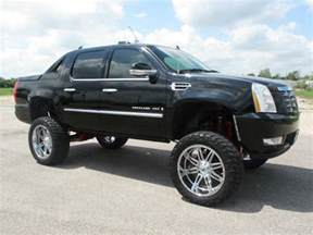 2014 Cadillac Escalade Ext For Sale Lifted Escalade Ext On Fuel Wheels For Sale Friday
