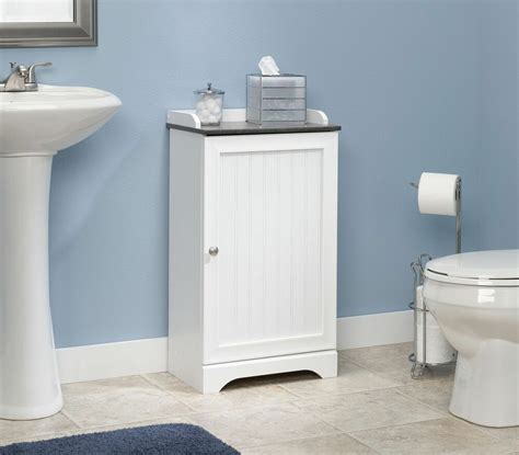 Towel Cupboard - bathroom storage cabinet floor white wood cupboard shelf