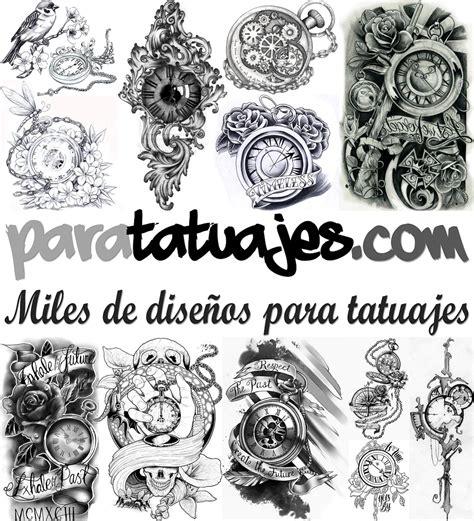 imagenes tatuajes blanco y negro relojes antiguos dibujos para tatuajes
