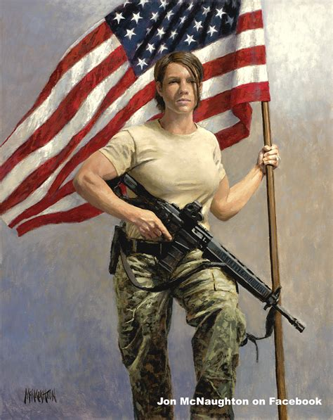 patriotic americana take a stand mcnaughton fine art