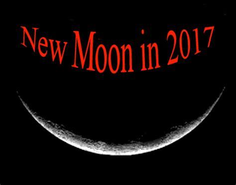 new lunar 2017 moon phases in 2017 new moon calendar tarot astrology