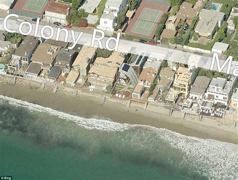 stevens house celebrities malibu homes battered by huge waves daily mail online