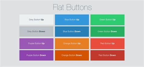 Button Flat flat buttons free psd iceflowstudios design