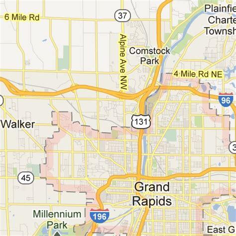 map usa grand rapids grand rapids mi maps prize gr