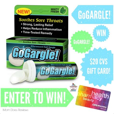 Does Cvs Have Gift Cards - win a 20 cvs gift card gogargle us only ends 2 15