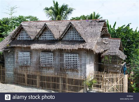 buy house in philippines a traditional house in a village in aklan philippines stock photo royalty free image