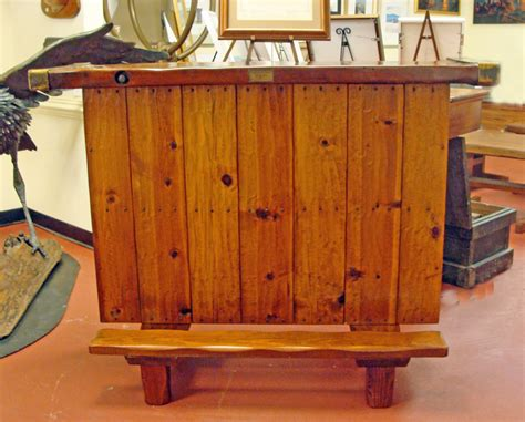 nautical furnishings handcrafted nautical bar with victory ship hatch cover top
