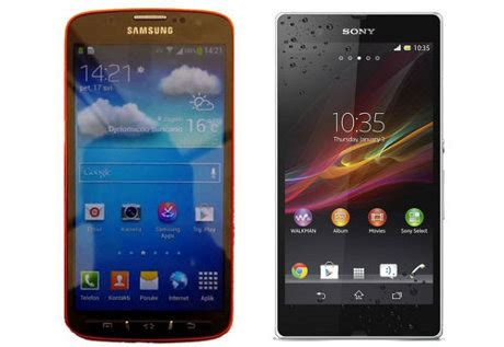 Hp Sony Xperia Anti Air perbandingan sony xperia z vs samsung galaxy 4 active hp anti air teknoflas