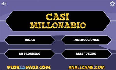 preguntas cultura general venezuela juego quien quiere ser millonario nueva versi 243 n jugar