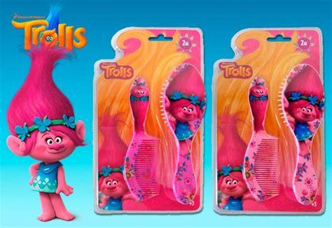 Beleza Set set de beleza para meninas dos trolls poppy escova