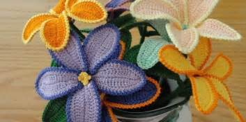 tutorial fiori all uncinetto diy tutorial fiori all uncinetto l angolo di giulia