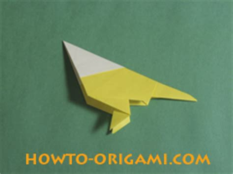 Origami Bird Beak - how to origami bird 187 how to origami easy origami