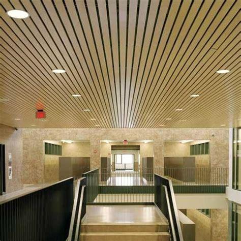 linear metal false ceiling at rs 85 square metal