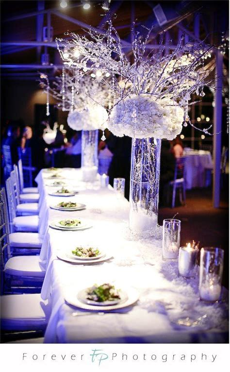 centerpieces winter weddings and winter on pinterest