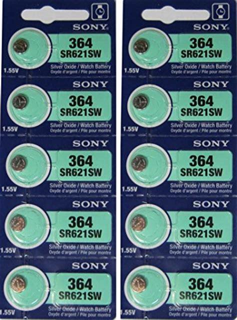 Soni 364 Sr621sw Single Pack Original sony silver oxide 1 55v batteries size sr927sw 395 pack of 5 sales up