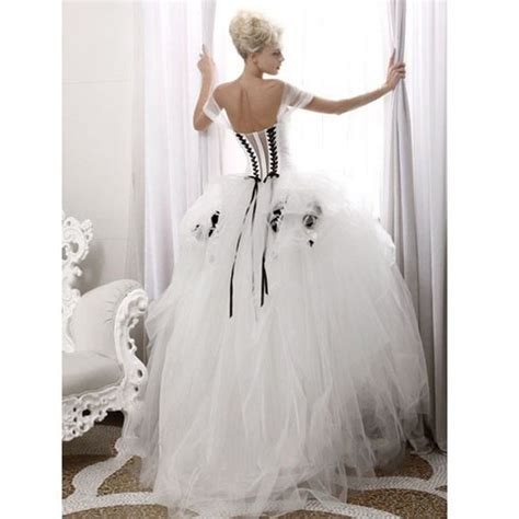 Dress White Tulle Flow 33 best wedding dresses images on homecoming dresses straps wedding