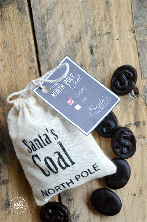 lump  coal christmas gift  idea room