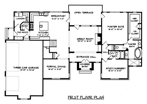 Floor Plans For Country Homes Bordeaux Plan 4450 Edg Plan Collection