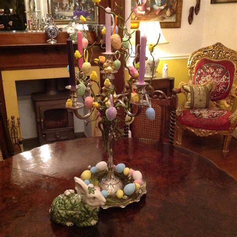 Candle Decoration At Home 40 Lovely Easter Tree Decorating Ideas For Home Decor