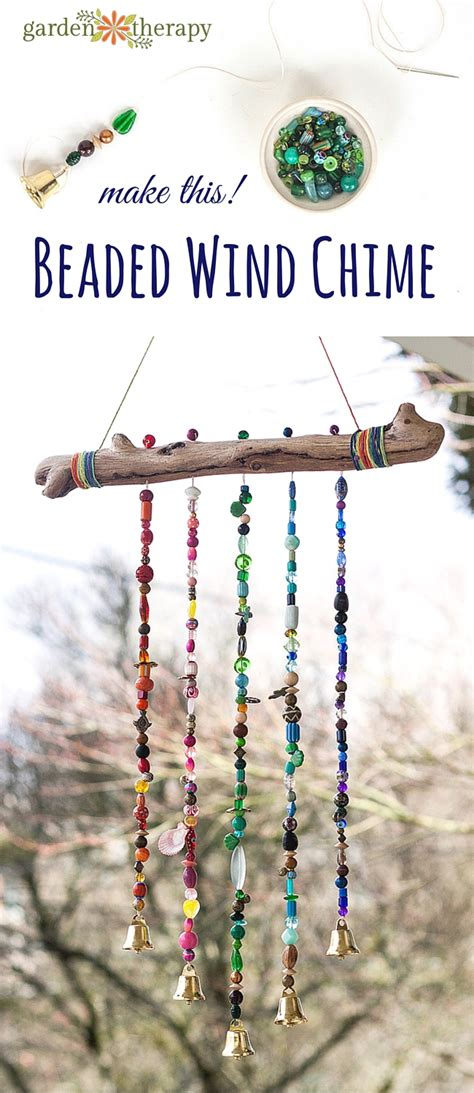 wind chime craft for how to make a sparkling bead wind chime with bells