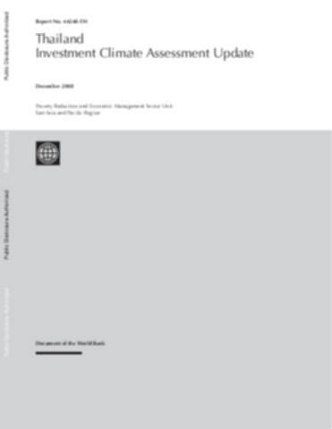 Malaysia - Productivity and Investment Climate Assessment
