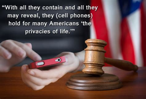 Supreme Court Cell Phone Search Can No Longer Search Cell Phones Incident To Arrest