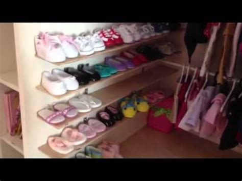 american doll room tour american doll house room tour bathroom and walk in c