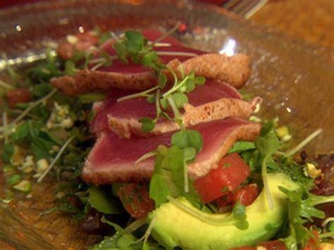 tuna tataki salad recipe food network