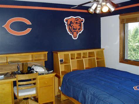 chicago bears bedroom