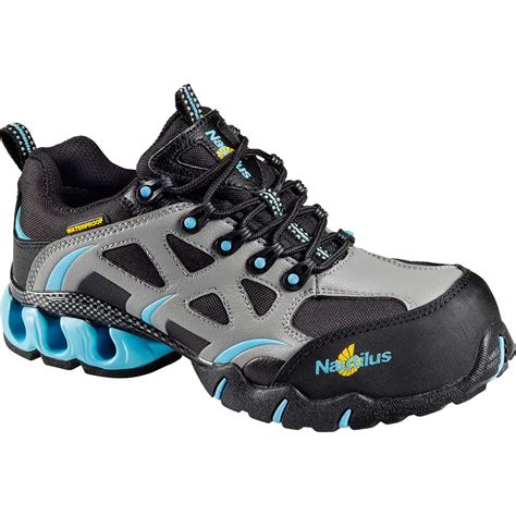 athletic work shoes nautilus s composite toe waterproof athletic work