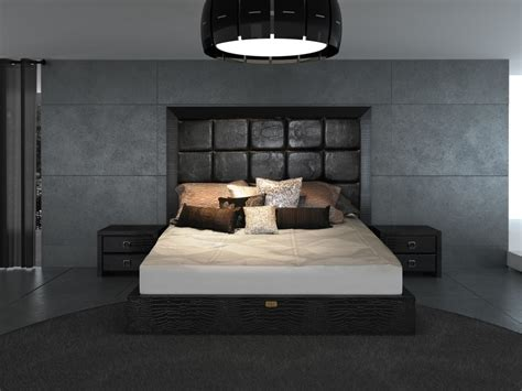 armani bedroom design a x glam modern black crocodile bed bedroom modern bed