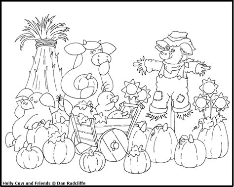 best photos of christian harvest coloring pages