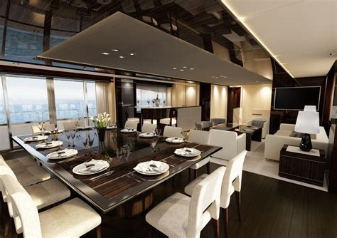 yacht interior design ideas yacht dining suite interior design ideas