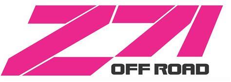 Pink Z71 Sticker