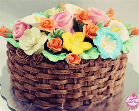 tortas decoradas en forma de canasta torta canasta chocolate buscar con google tortas