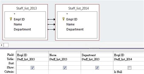 sql difference between two tables excel access tips compare difference between two tables