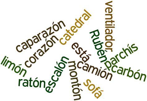 imagenes palabras agudas ejemplos de palabras agudas