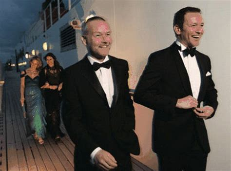 cruise formal wear for men cunard goes casual not quite captain greybeard