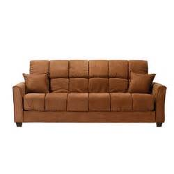 baja futon sofa sleeper brown sam s club