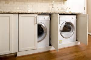 cabinet washer and dryer laundry room design decor photos pictures