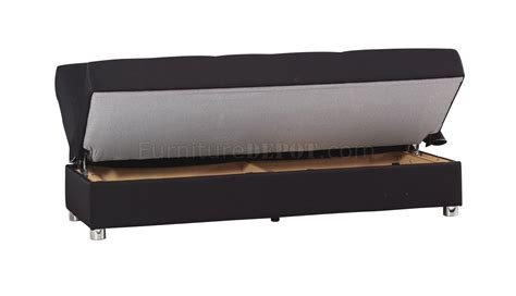 Black Fabric Sofa Bed Romano Sofa Bed In Black Fabric By Casamode