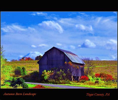 autumn barn landscape flickr photo