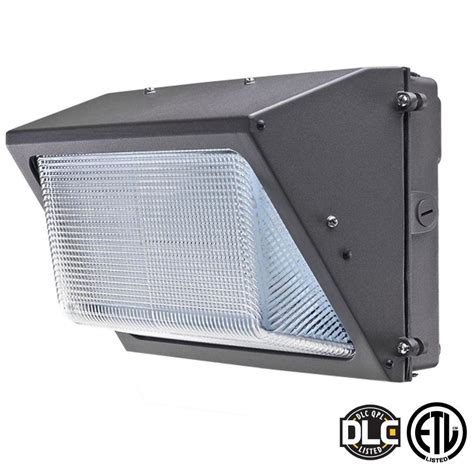 Led For Outdoor Lighting Axis Led Lighting 28 Watt Bronze 5000k Led Outdoor Wall Pack With Glass Refractor White