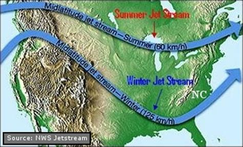 map us jetstream understanding the effects of global warming on the