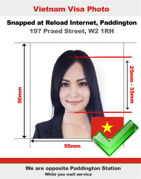 vietnamese passport photo and visa photo snapped in